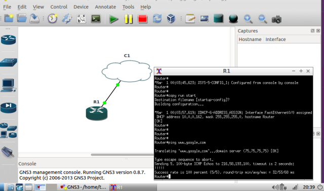 Mini-CCNA-GNS3 rig – The Integrater